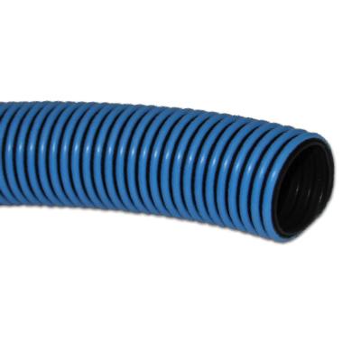 Samar 1 1 2 Inch I D X 25 Ft Blue Swimming Pool Vacuum Corrugated Hose