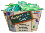 Adams Mfg 1312-53-3848 Frog Magnet Clip In Assorted Colors