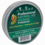 Shurtech Brands 04140 Electrical Tape, Green Vinyl, .75-In. x 66-Ft.