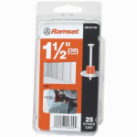 Itw Brands 00804 Drive Pin With Washer, .300 x 1.5-In., 25-Pk.