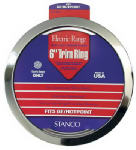 Stanco Metal Prod GT-6 Electric Range Trim Ring, Chromed Steel, 6-In.