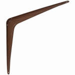 National Mfg N185-058 12 x 14-In. Fruitwood Steel Shelf Bracket