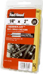 Itw Brands 35305 Hammer-Set Nail Drive Anchors, .25 x 2-In., 50-Pk.