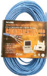 Southwire/Coleman Cable 56917943 100-Ft. CAT5E 4-Pair 24 Gauge Blue Bare Copper Wire
