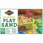 Sakrete Of North America 40100374 Natural Play Sand, 60-Lbs.