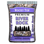 Waupaca Materials 00010-RDC26 .5CUFT River Rock Stone