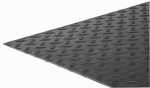 Steelworks Boltmaster 11255 Aluminum Tread Plate, 24 x 24 x .063-In.