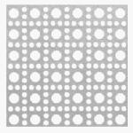 Steelworks Boltmaster 11257 Lincane Aluminum Perforated Sheet, .020 x 24 x 36-In., Silver, Must Purchase in Quantities of 5