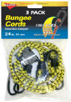 Hampton Products-Keeper 06303 Bungee Cord, 24-In., 3-Pk.