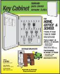Hy-Ko Prod KO301 Key Cabinet, Holds 24 Keys, Plastic