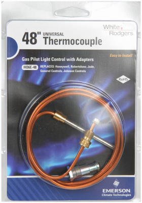 48 Inch Universal Thermocouple For Furnaces Boilers Water Heaters Space Heate