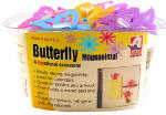 Adams Mfg 1320-53-3848 Butterfly Magnet Clip In Assorted Colors