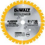 Dewalt Accessories DW9152 6.5-Inch 36-TPI Aluminum-Cutting Saw Blade