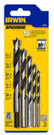Irwin Industrial Tool 49600 Brad-Point Drill Bit Set, 5-Pc.