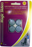 Magic Sliders L P 04025 Surface Protectors, Furniture Sliding Discs, Adhesive, 1-In. Round, 4-Pk.