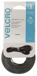 Velcro Usa Consumer Pdts 90924 ONE-WRAP  Thin Ties, Black / Gray, 8 x 1/2-In., 50-Ct.