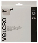 Velcro Usa Consumer Pdts 91110 Industrial Strength Fastening Tape, Low Profile, White, 10-Ft. x 1-In.