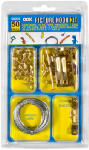 Hillman Fasteners 59204 Picture Hanging Kit, Assorted, 50-Pc.