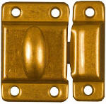 National Mfg Co N149-625 Dull Brass Cupboard Turn