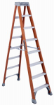 Louisville Ladder FS1508 8-Ft. Step Ladder - Fiberglass Type IA 300-Lb. Duty Rating