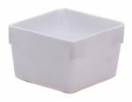 Rubbermaid 2910-RD-WHT Plastic Drawer Organizer, White, 3 x 3 x 2-In.