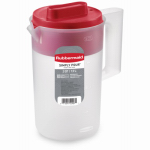 Rubbermaid 1777154 Covered Pitcher, 2.25-Qt.