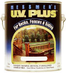 Messmer's MS-603-1 UV Plus Oil-Based Wood Finish, Dark Walnut, 1-Gal.