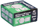 Mechanical Plastics 13101 Alligator Masonry Anchors, Flanged, .25-In., 100-Pk.