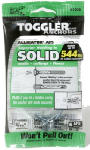 Mechanical Plastics 50445 Alligator Masonry Anchors, Flanged, 3/16-In., 6-Pk.