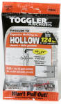 Mechanical Plastics 50275 TA Hollow Wall Anchors, 1/8-1/4-In., 5-Pk.