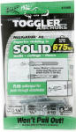Mechanical Plastics 50460 Alligator Masonry Anchors, Flanged, .25-In., 6-Pk.