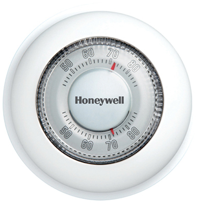 Honeywell Home/Bldg Center CT87K1004/E1 Round Heat Only Ther