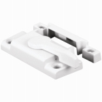 Prime Line Products 171915 White-Finish Double-Hung Window Sash Lock