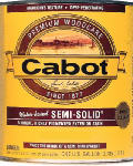 Cabot/Valspar 1106-07 Siding Stain, Neutral Base, Exterior, Semi Solid, Water-Based, 1-Gal.