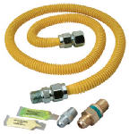 Brass Craft Service Parts PSC1106 Safety+PLUS Advantage Gas Dryer Installation Kit