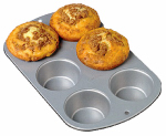 Wilton Industries 2105-953 Recipe Right 6-Cup Non-Stick Muffin Pan