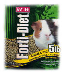 Kaytee Pet 100509722 Forti-Diet Guinea Pig Food, 5-Lbs.
