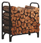 Panacea Products 15203 4-Ft. Steel Log Rack