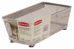 Rubbermaid 1F7600-TITNM Mesh Drawer or Drawing Organizer, 3 x 6-In.