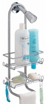 Interdesign 60166 Classico Silver Shower Caddy