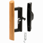 Prime Line Products 141843 Internal Sliding Glass Door Lock Kit, Black