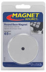 Master Magnetics 07222 Heavy Duty Round Base Magnet - 65-Lb. Pull