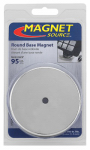Master Magnetics 07223 Heavy Duty Round Base Magnet - 95-Lb. Pull