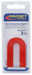 Master Magnetics 07225 Alnico Horseshoe Magnet with Keeper - 3-Lb. Pull