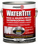 Zinsser & 05001 Gallon Watertite Mold & Mildew Proof Waterproofing Paint