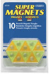 Master Magnetics 07510 Magnetic Hangers, Triangles, 10-Pk.