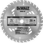 Dewalt Accessories DW3576B10 7.25-Inch 36-TPI Construction Saw Blade