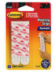 3M 17023P 6-Count Large Mounting Strips