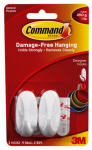 3M 17082 2-Count Small Designer Hook