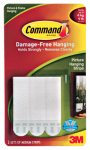 3M 17201 3-Count Medium Picture Hanging Strip